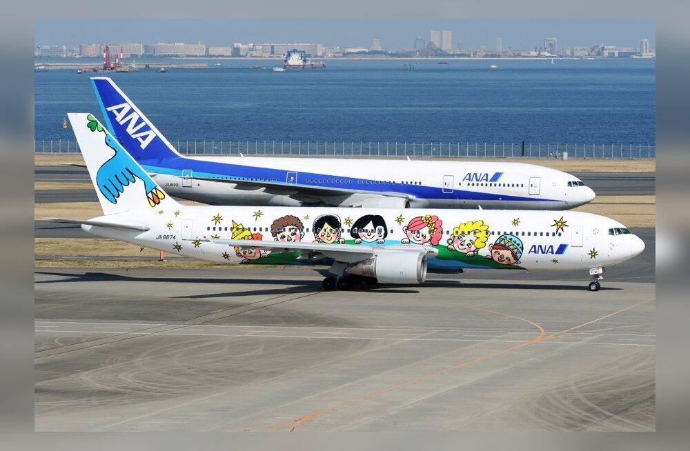 Vaata, millised on maailma kõige populaarsemad lennud
