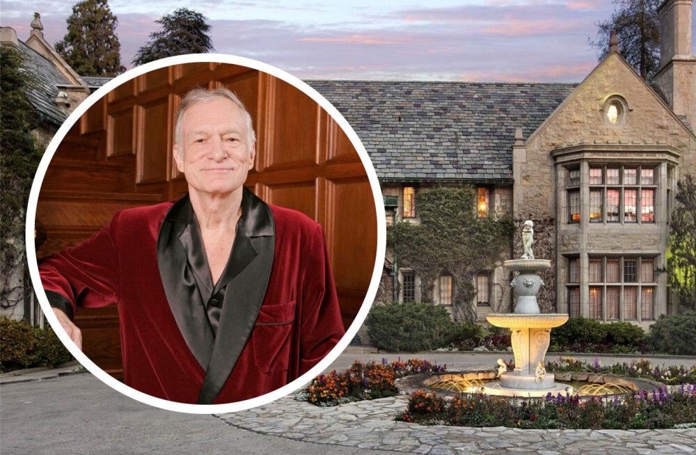 KLÕPS   Üks legendaarsemaid hooneid saab uue näo: Playboy villat ümbritsevad tellingud