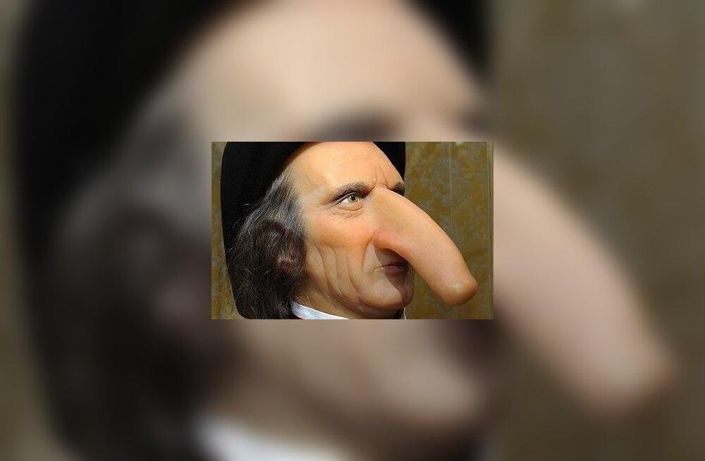 Suur nina: Thomas Weddersil oli see 19 cm pikkune