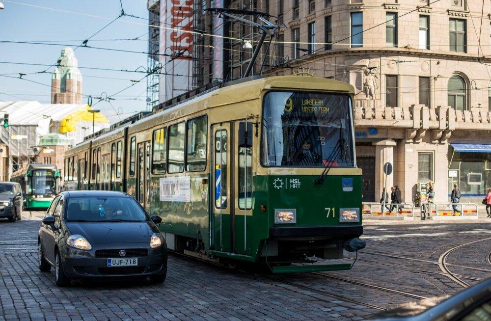 Helsingi ühistranspordikeskus: kui Tallinna tasuta sõit meile kopeeritaks, tõuseks märgatavalt omavalitsuse maks