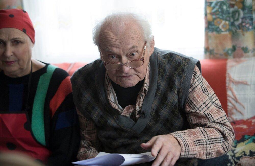 """Kristjan Rosenkampf-Jägerfreundi rollis on Väino Aren teleekraanil """"Õnne 13"""" vaatajaid rõõmustanud veerand sajandit."""