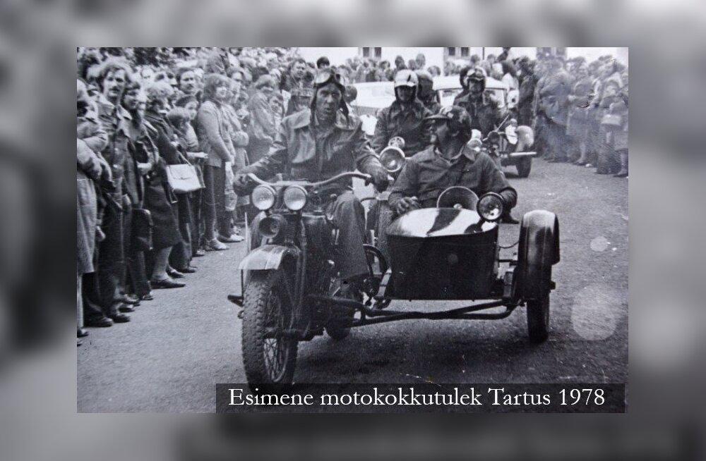 Peatükk Eesti motoajaloost: nii loodi vanatehnikaklubi Unic motosektsioon