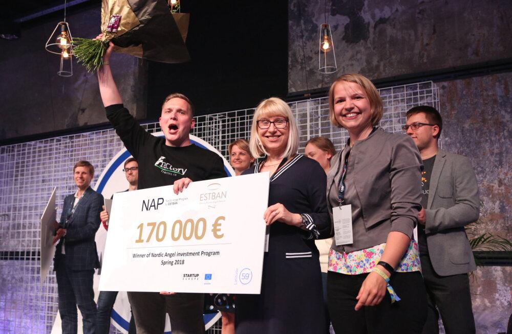 101 hulgast edukaim: Latitude59 <em>pitch</em>'ivõistluse võitis Fractory