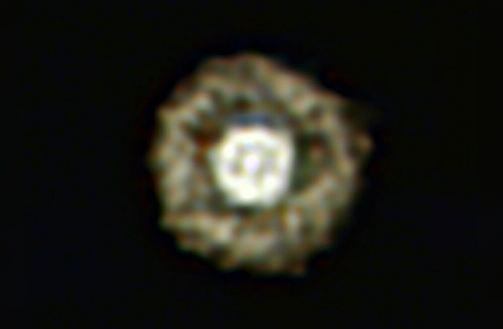 Kosmosest leiti hiiglaslik praemuna kujuline täht