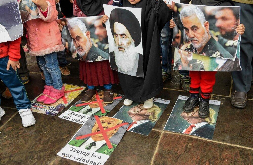USA-Iraani konflikt kogub üha tuure. USA liitlased toetavad riigi enesekaitseõigust, aga on ühiselt otsustanud, et sõjalist vastasseisu tuleb vältida.