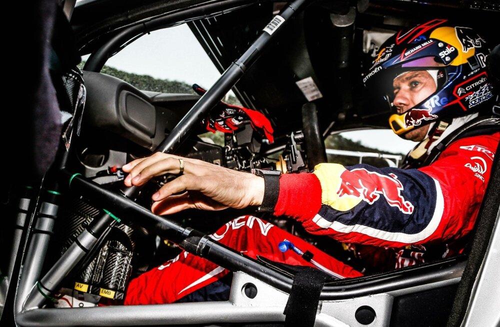 Sébastien Ogier'l pole aasta kulgenud soovitud moel, sest ta auto ei ole konkurentsivõimeline.