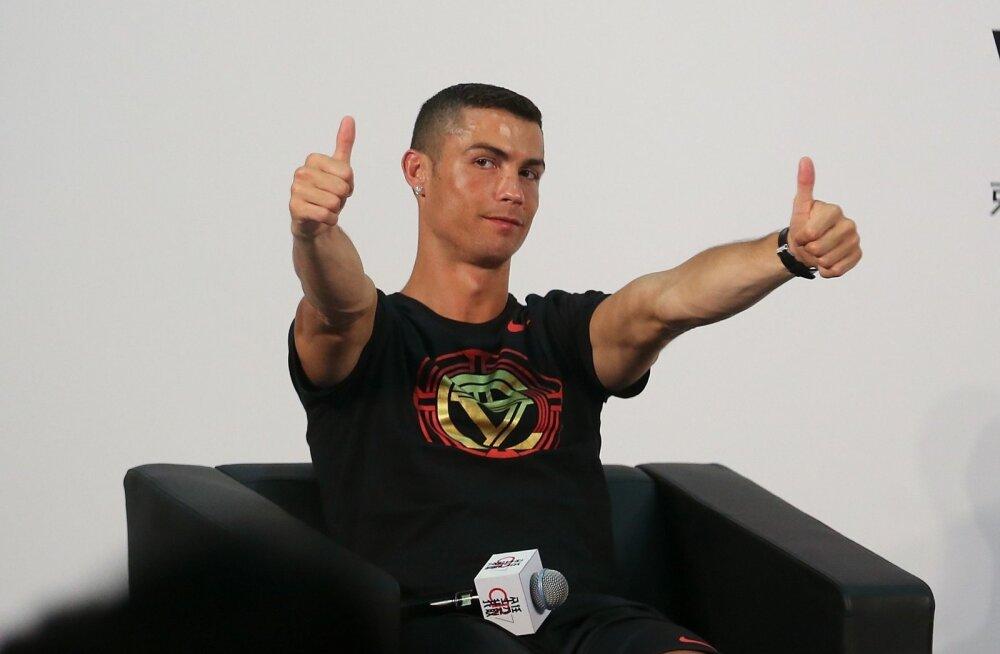 Cristiano Ronaldo teab ka ise, et ta on imelises vormis.