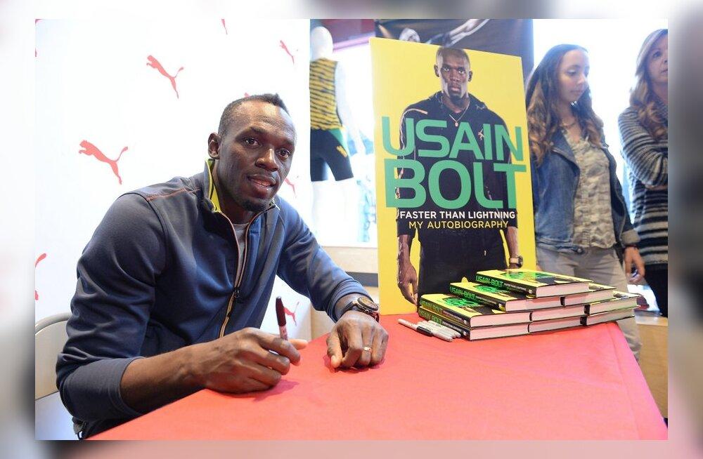 """Katkend Usain Bolti elulooraamatust: """"Kogu see kergejõustiku värk on raske..."""""""