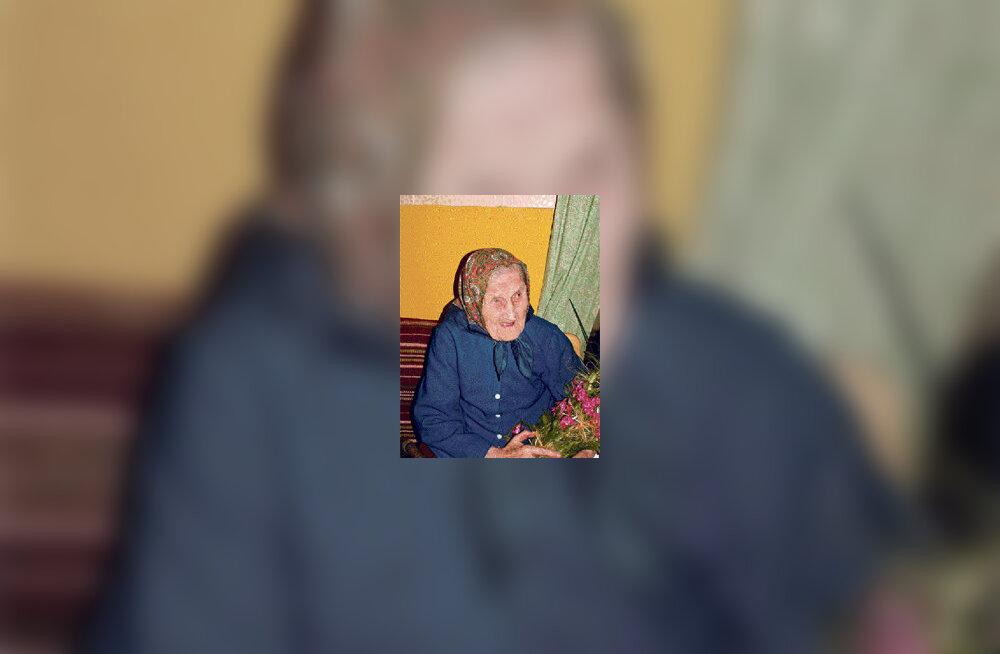 104-aastane Maria Köster – kõigi aegade vanim kihnlane