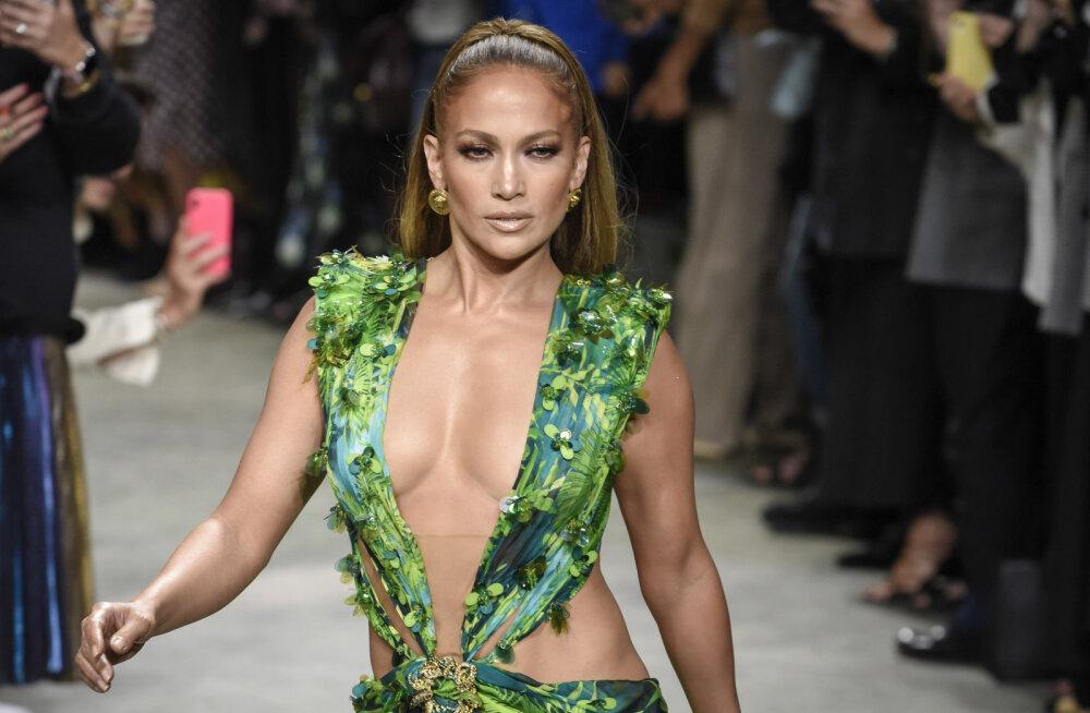 FOTO | Jennifer Lopez korraldas uhke kihluspeo, kuigi tähtsast sündmusest on möödas juba pool aastat