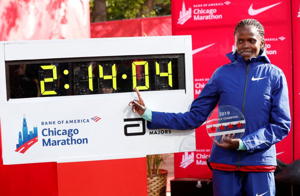 Chicago maratonil püstitati võimas maailmarekord