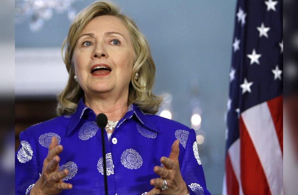 Hillary Clinton: Süüria president on kaotanud legitiimsuse