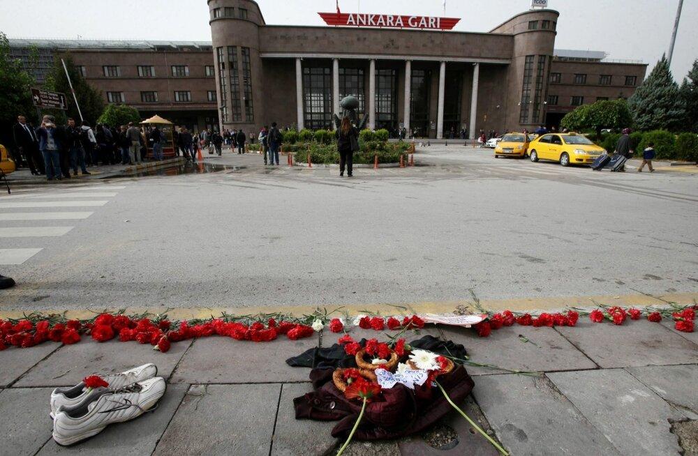 Türgi vahistas kaks isikut, kes saatsid enne Ankara terroriakti sellele viidanud säutse