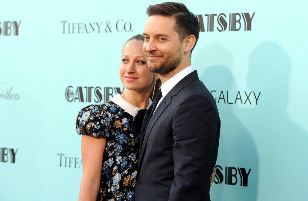 Tobey Maguire ja Jennifer Meyer