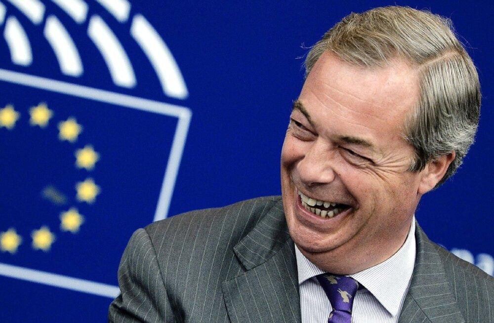 """Nigel Farage: enne Brexiti-referendumit antud lubadused olid """"veidi vastutustundetud"""""""