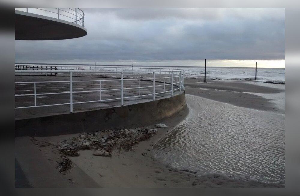 Vesi võib täna õhtul Pärnu lahes tõusta üle kriitilise taseme