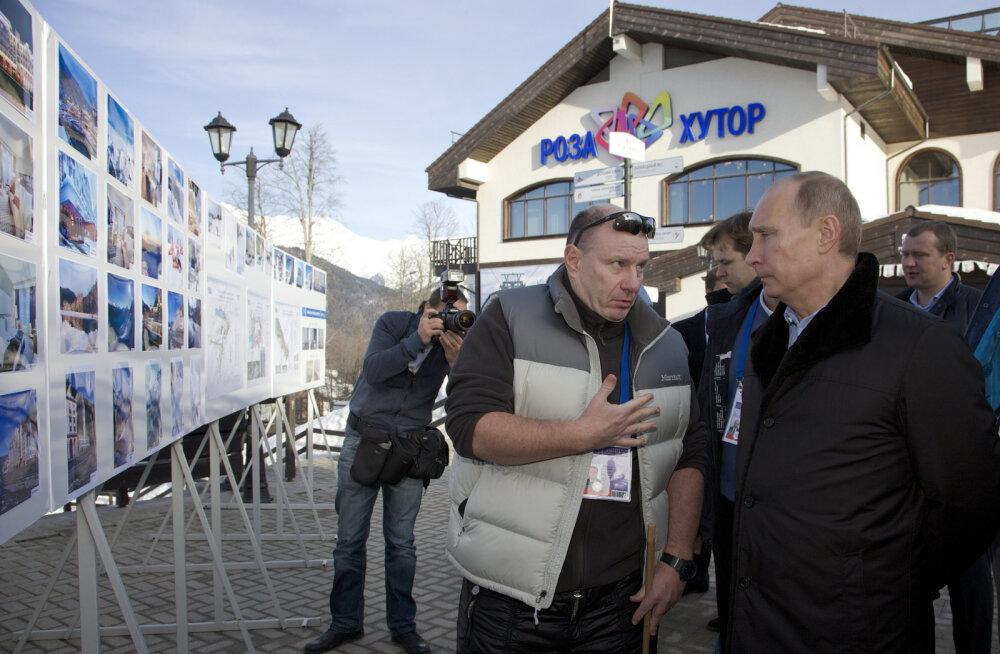 Putin andis oligarhi kirja järel valitsusele käsu uurida Sotši kuurordi arendust