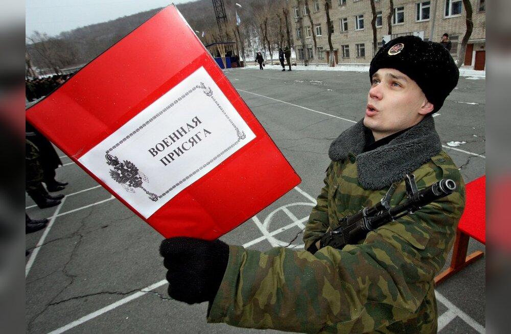 133 000 noort hoiab Vene armeeteenistusest kõrvale