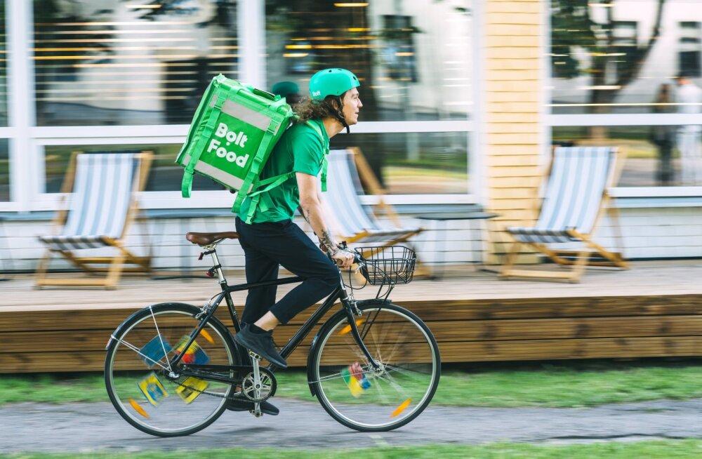 Toidu kohaletoimetamisfirma vallutab Tartu