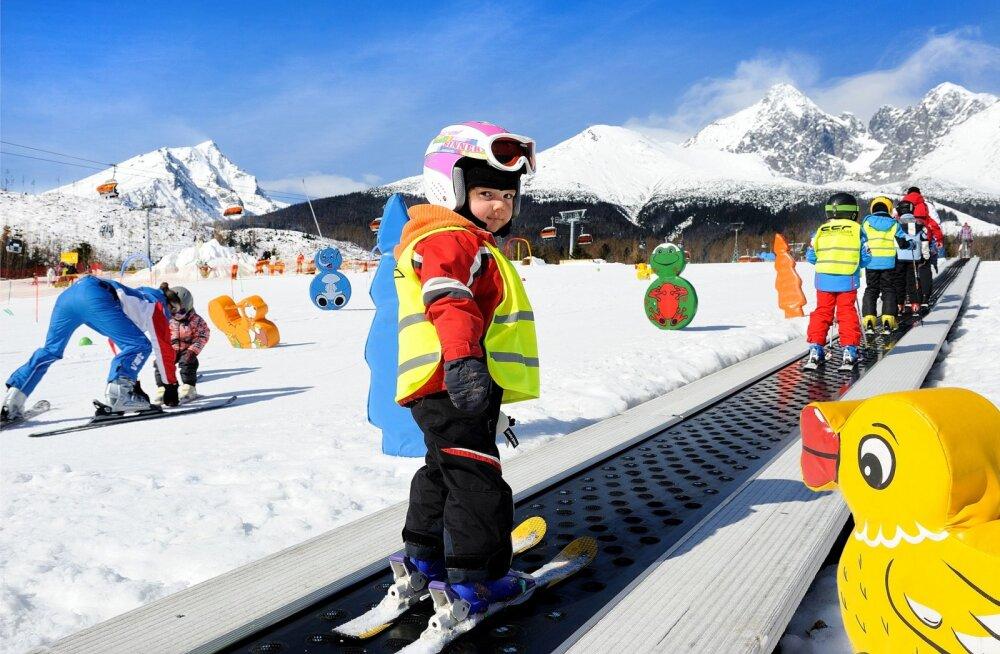 Kus, millal ja kuidas nautida sportlikku puhkust koos lastega?