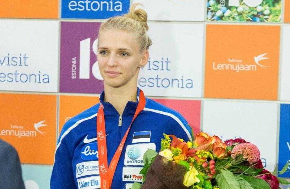Katrina Lehis, Euroopa meister, Eesti epeenaiskonda ei mahtunud.