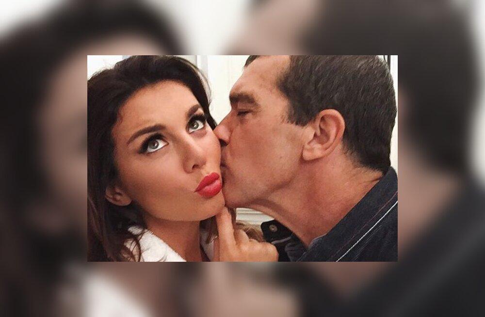ФОТО: Антонио Бандерас снял Анну Седокову для Maxim
