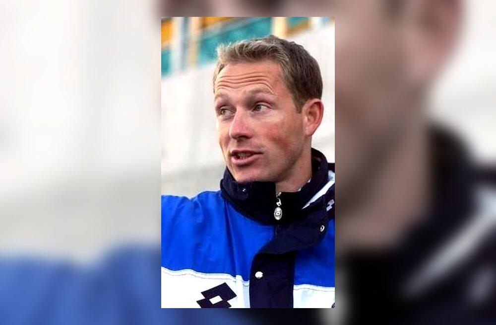 Eesti jalgpallikoondise peatreener Jelle Goes
