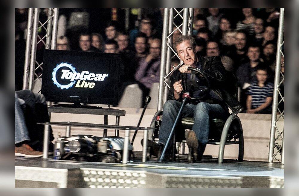 FOTOD: Top Geari etendus Helsingis: kaelamurdvad trikid ja iludustest autod