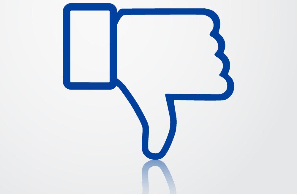 """Facebookilt veel üks uuendus tulemas? Sotsiaalvõrgustik katsetab lõpuks ometi """"ei meeldi"""" nuppu"""