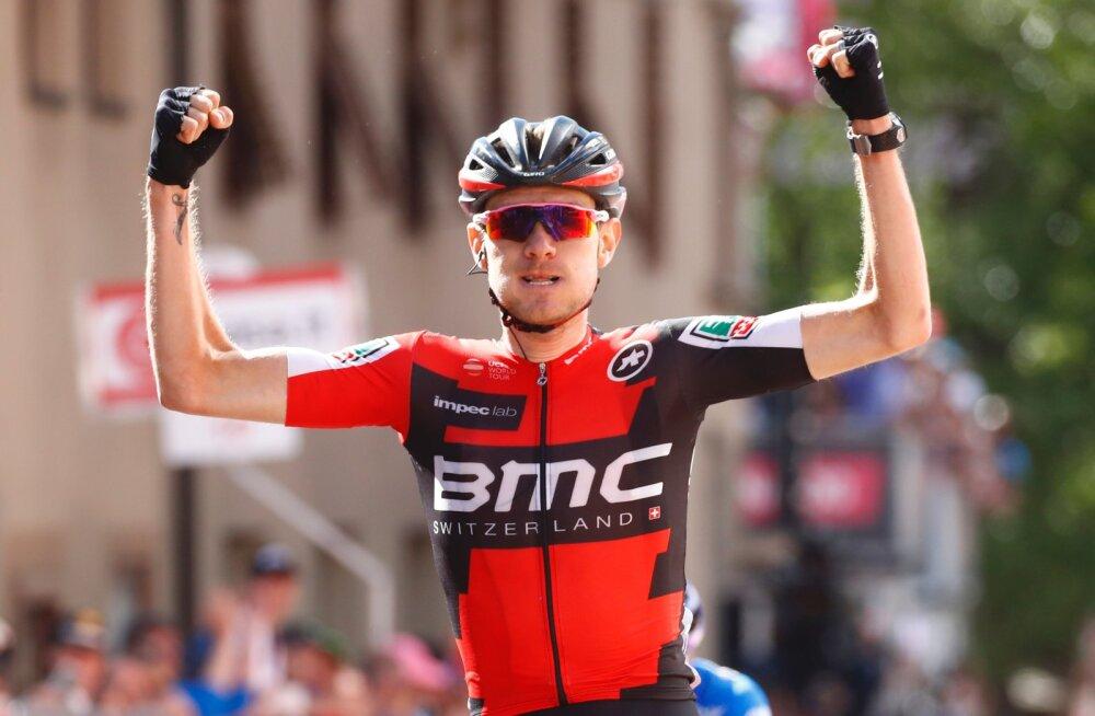 Tejay van Garderen võttis karjääri esimese suurtuuri etapivõidu