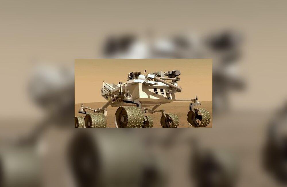 See on NASA uusim Marsiauto