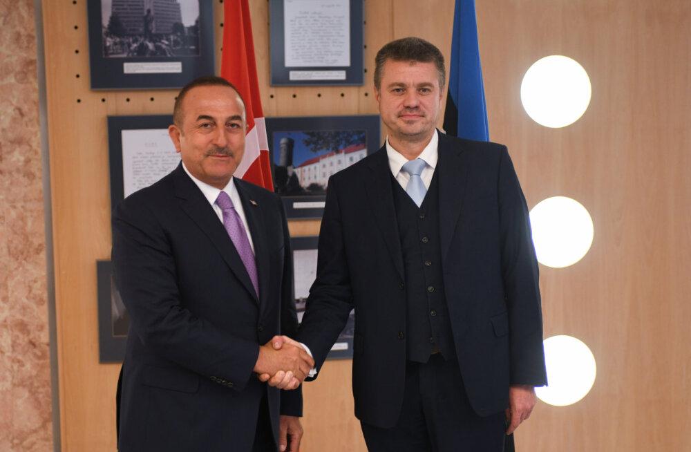 Türgi välisminister Eestis: meie head suhted Venemaaga ei sega suhteid ülejäänud NATO-ga