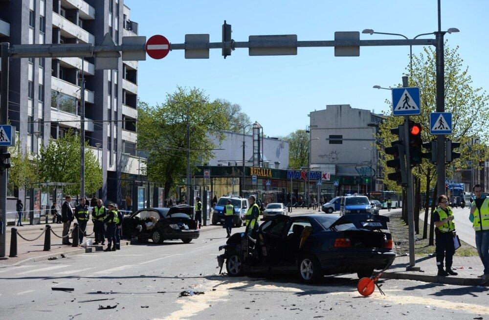 Õnnetus Tartu maanteel