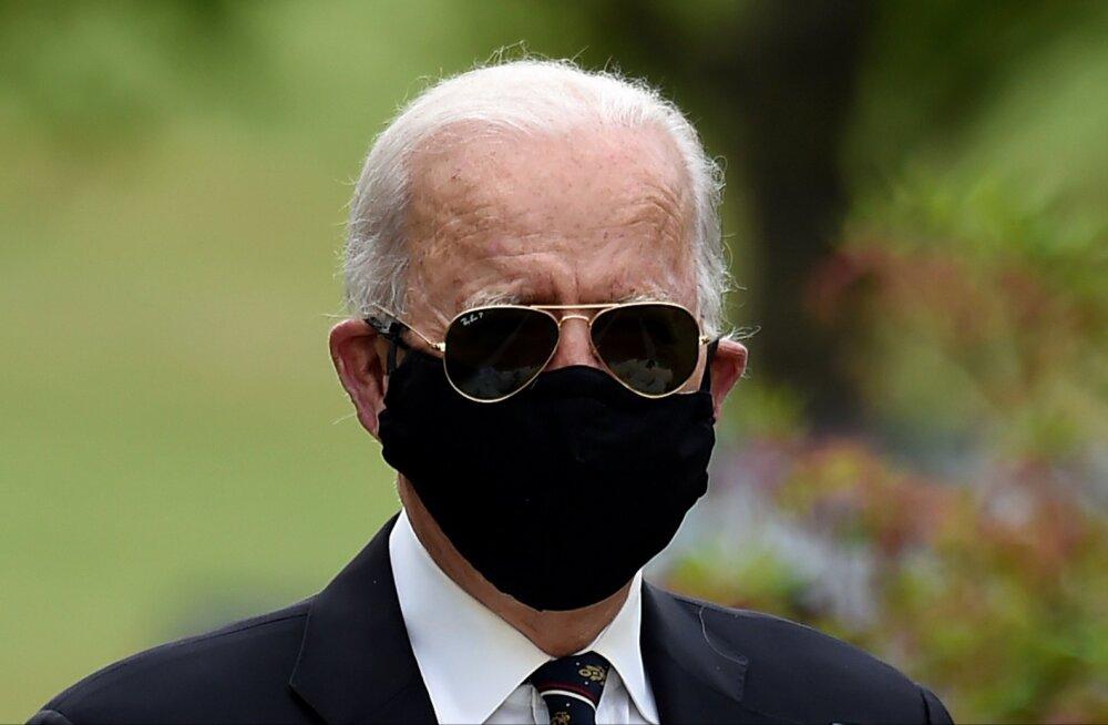USA presidendikandidaat Joe Biden ilmus pärast kahekuulist karantiini avalikkuse ette