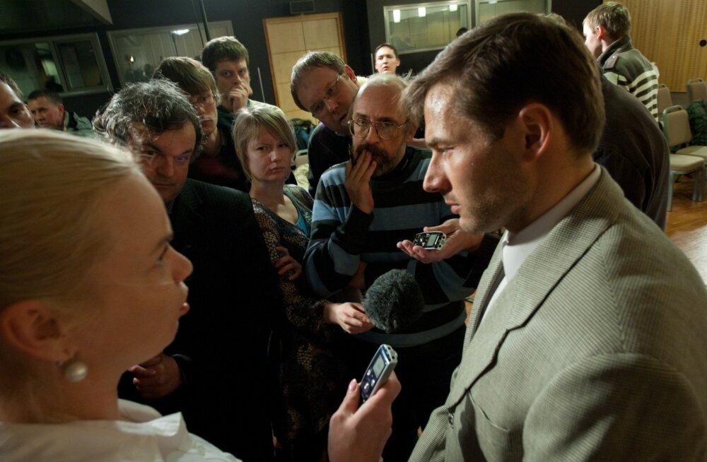 Andrus Veerpalu pressikonverents 2011. aastal