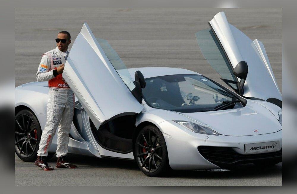 McLaren MP4-12C, Lewis Hamilton