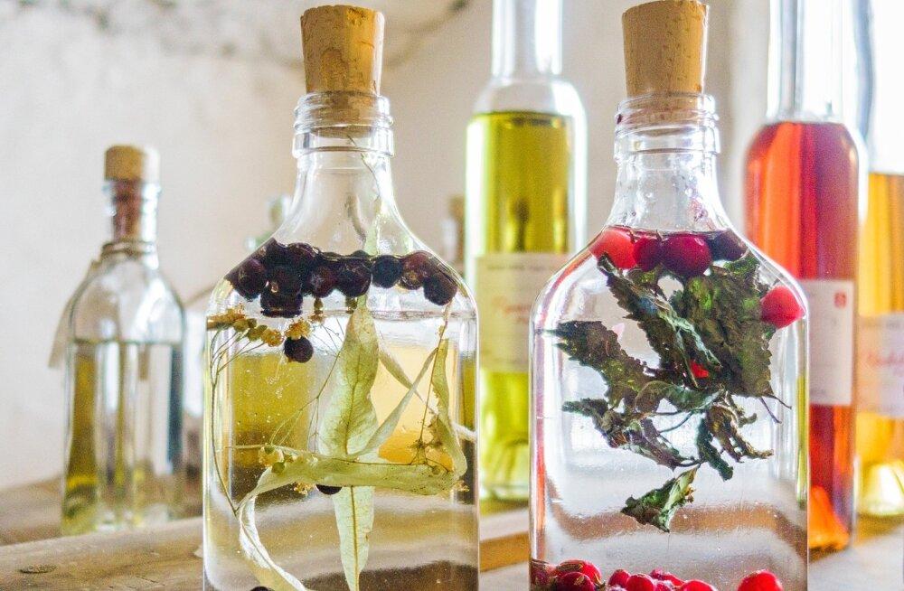 Sagadi mõisas on külastajatel võimalik endale ise sobiv naps teha.
