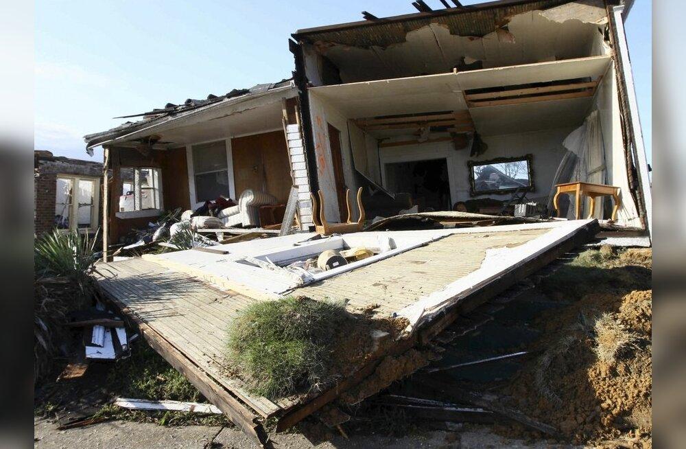 FOTOD: USA lõunaosariikides on tormides hukkunud vähemalt 258 inimest