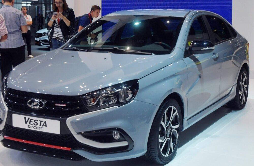 Lada mudelivaliku kõige kallim auto- Vesta Sport.