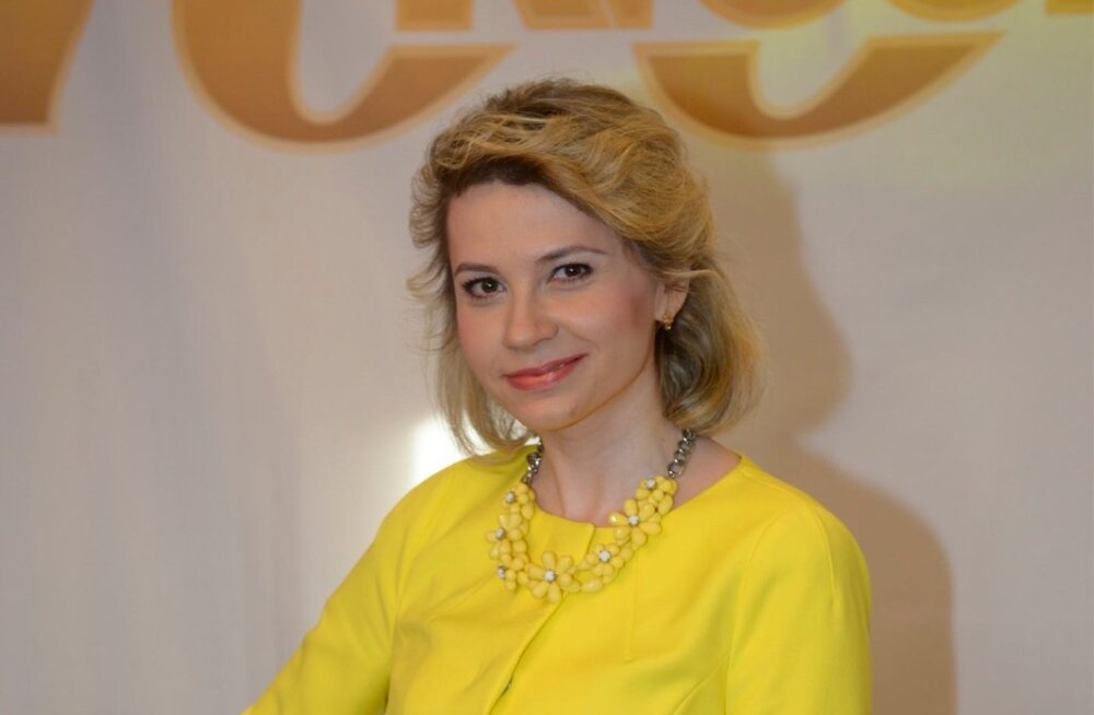 TV3 reporter Anna-Maria Veidemann-Makko
