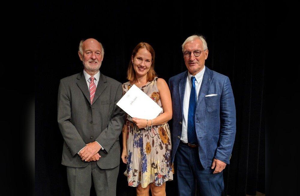 Dr. Pii Müller teenis Rahvusvahelise Olümpiakomitee spordimeditsiini diplomi