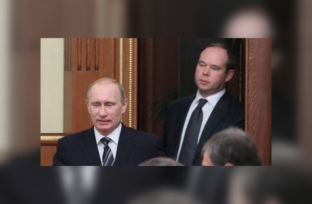 Vladimit Putin ja Anton Vaino