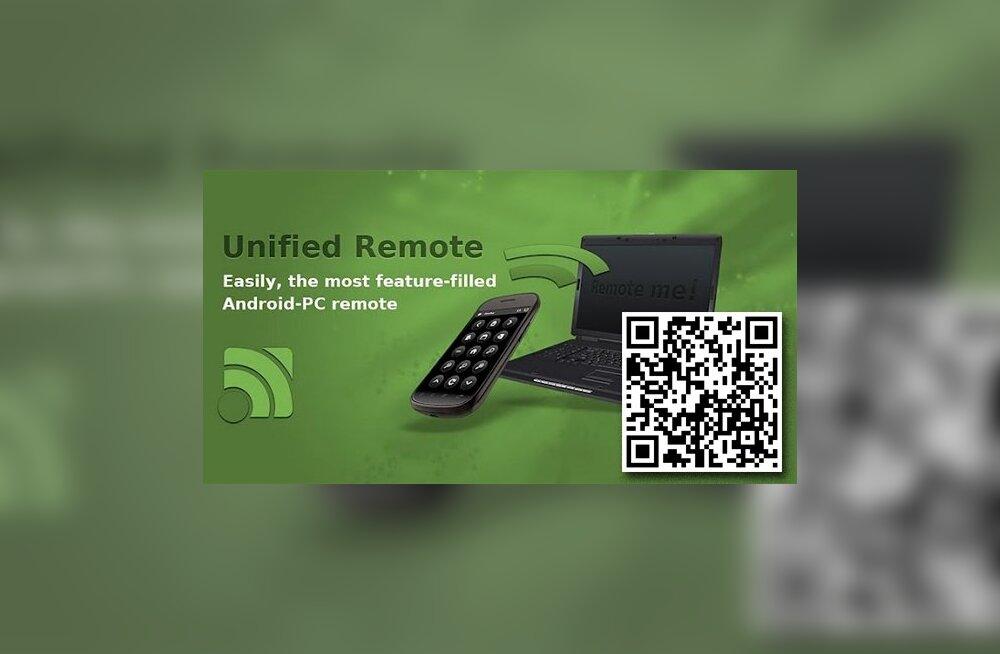 ÜLEVAADE: Androidi nutirakendus Unified Remote
