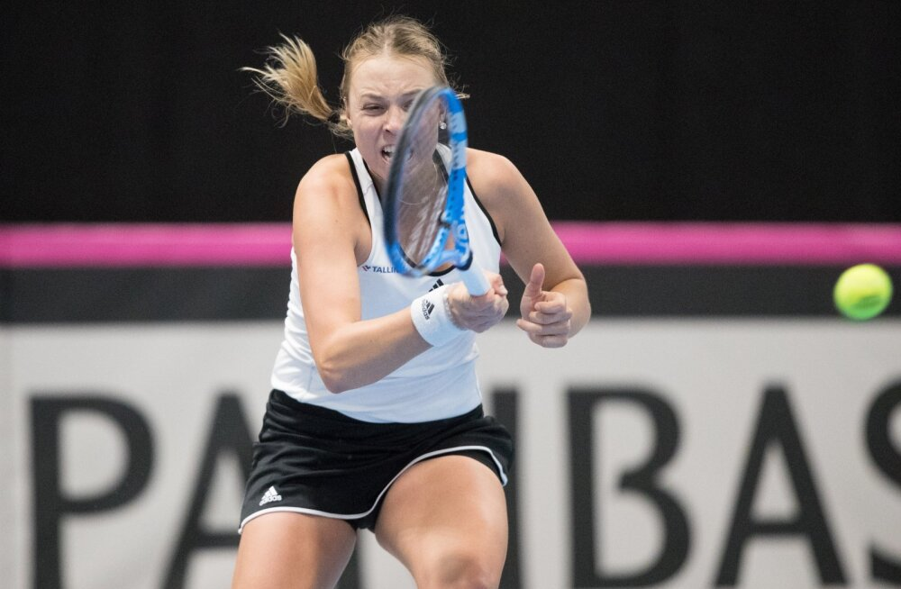 Tennise Fed Cup Tallinnas: Eesti- Suurbritannia