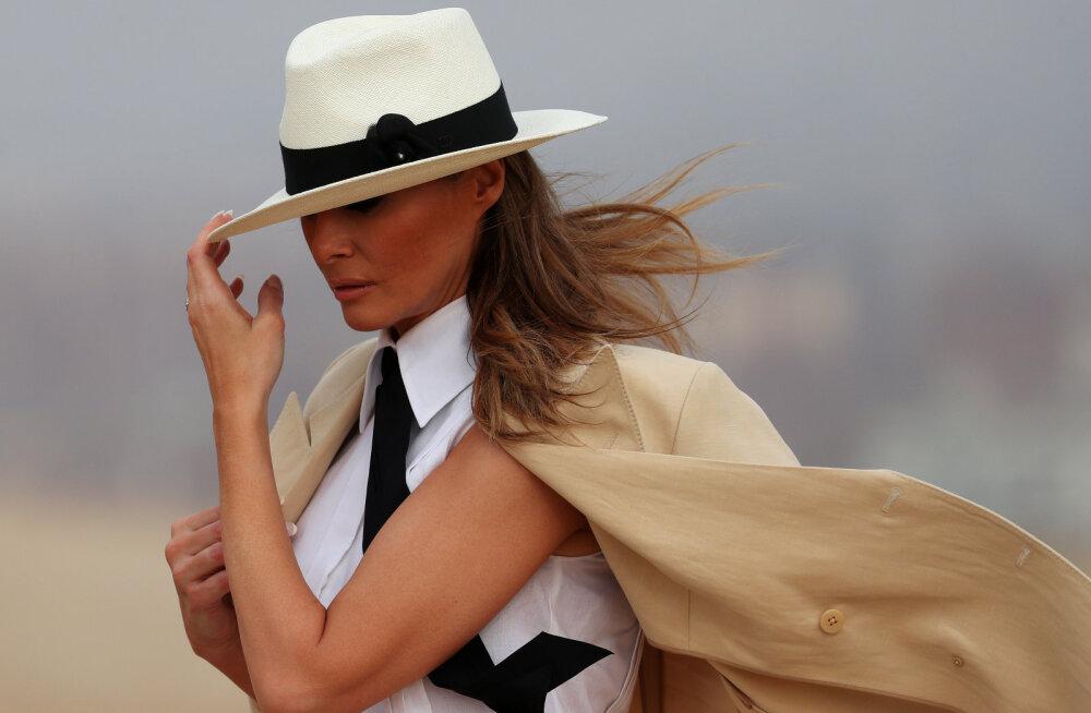 Melania Trump väidetavast abielukriisist: ma armastan oma abikaasat