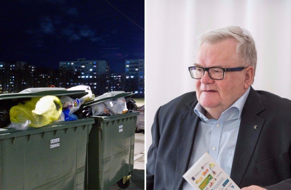 Kristjan Mark: Savisaare jutt prügiveo hinna kahekordsest tõusust Lasnamäel on alusetu
