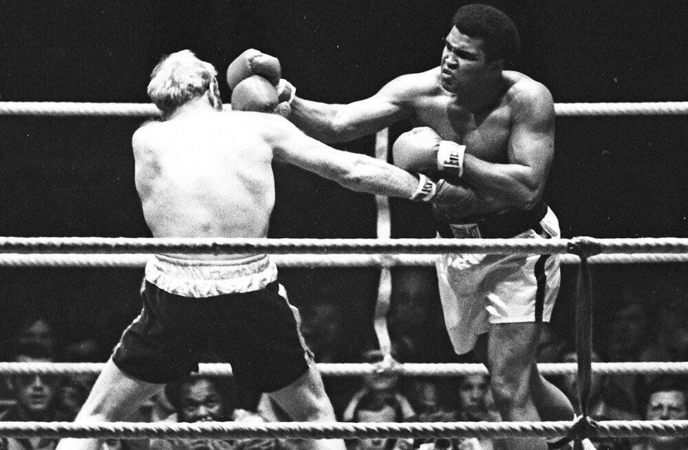 Poksiringide kuningas Muhammad Ali