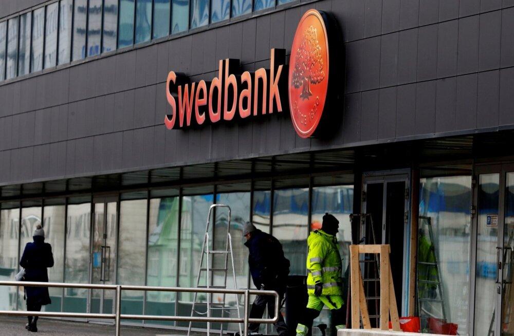 Swedbanki Tallinna kontor Liivalaia tänaval