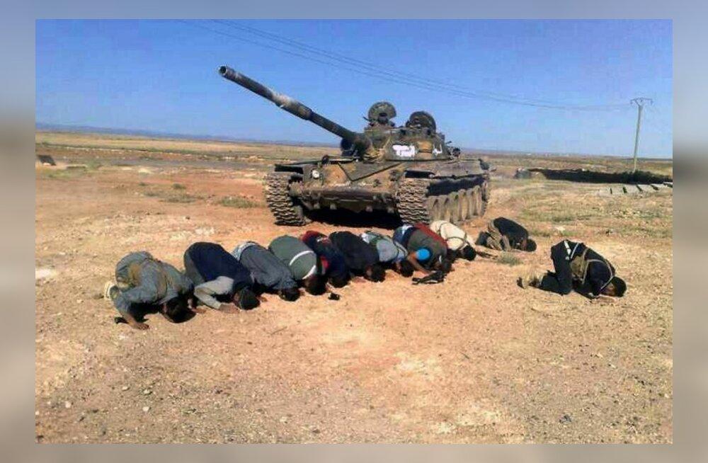 Selline seis on praegu Süüria kodusõjas, mis justkui maailmale korda ei lähe