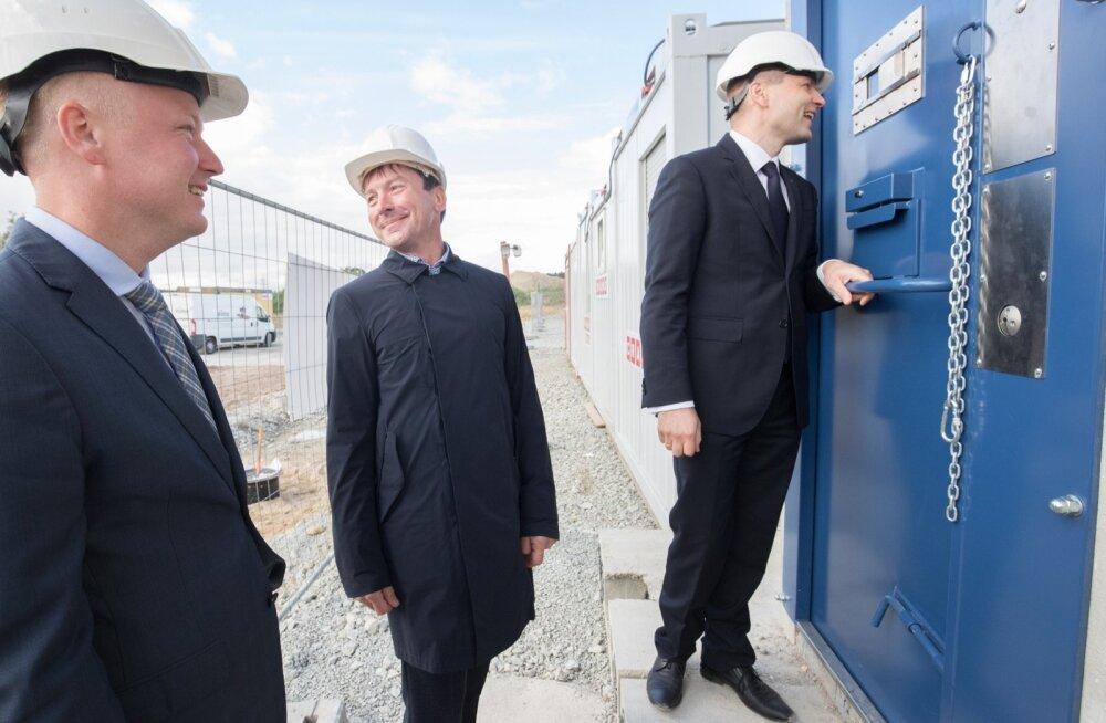FOTOD: Pevkur lukustas Reinsalu vangikongi, võtme leidmine võttis aega